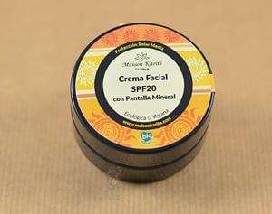crema facial bio spf20 maison karite