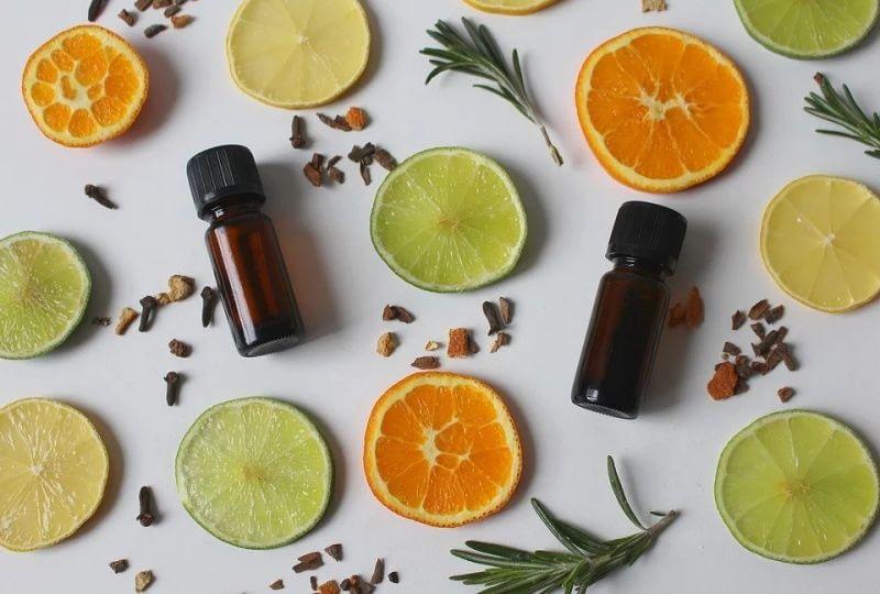 aceites esenciales naranja y limon